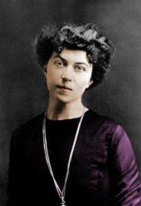 Alexandra Kollontai a color