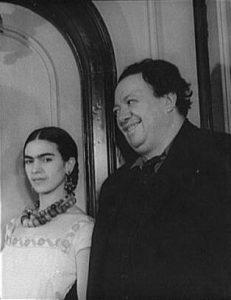 Imagen Frida Kahlo y Diego Rivera juntos
