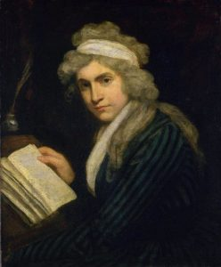 Retrato de Mary Wollstonecraft