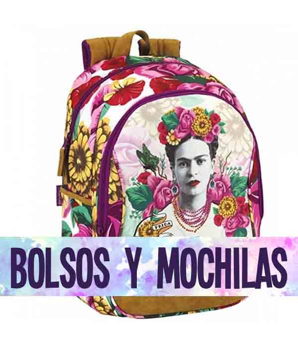 mochilas y bolsos de Frida Kahlo