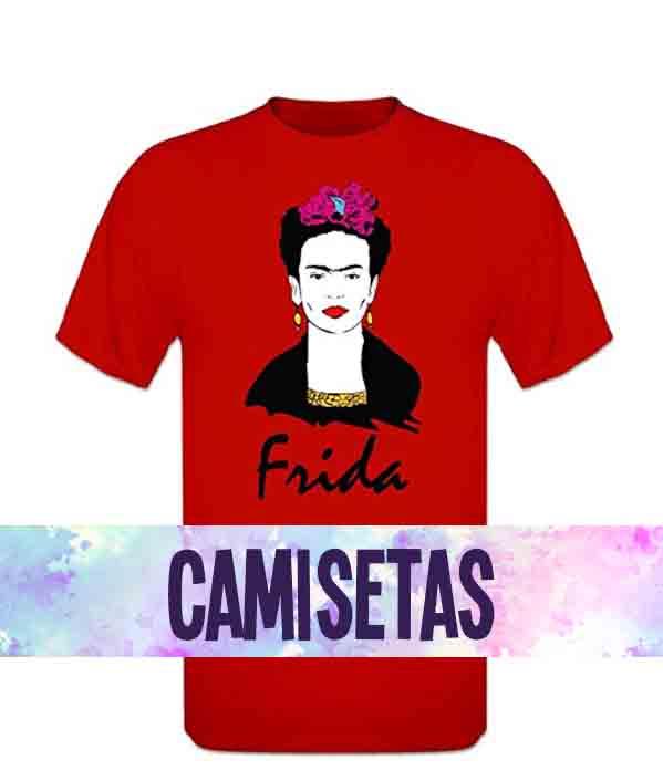 camisetas de frida kahlo