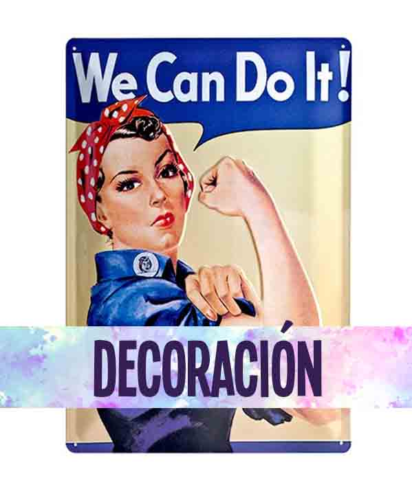 Productos de decoración feministas