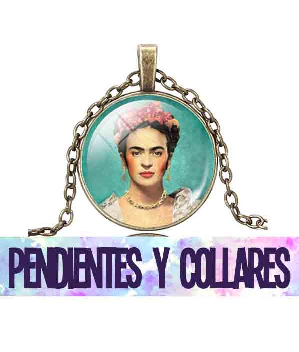 pendientes y collares de frida kahlo