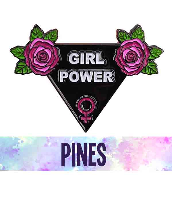 Pines feministas bonitos originales